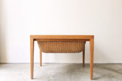 Danish Vintage Sewing Table by Severin Hansen